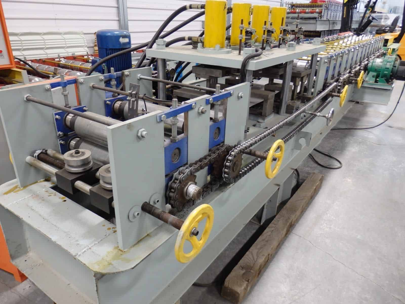 Stud/Track Residential Framing Machine – Roll Former with punching